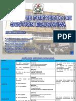Perfil de Proyecto de Gestion Educativa