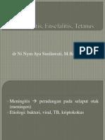 Meningitis Dan Ensefalitis, Tetanus-1