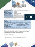 Guía de actividades y rubrica de evaluacion - Fase 6 - Evaluación y Operación de la Red Telemática.docx