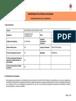 Programa Analitico Asignatura Fundamentos de Programación
