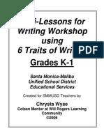 Writing Mini Lessons 06