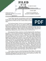 Affidavit Filed in N. Sioux City Case Against D. McIntosh
