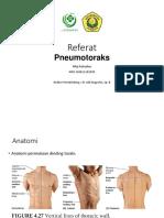 REFERAT - Pneumothorax Versi PPT