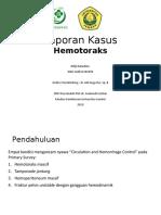 Lapsus - Hemothorax.pptx