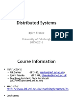 Intro Distributed Systems
