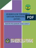 Kurikulum Tingkat Satuan Pendidikan 2016-2017