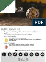 _Plantilla de Presentación Relojes