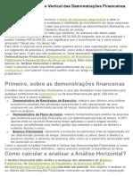 Análise Horizontal e Vertical das Demonstrações Financeiras.docx
