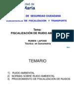LAFOSE Fiscalizacion de Ruido Ambiental JM 2019