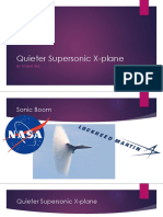 quieter supersonic x-plane