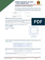 Unidad III - Funciones de Varias Variables