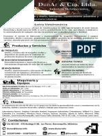 Brochure Dunar