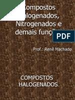 QO8- Compostos Halogenados e Nitrogenados