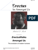Homo Erectus Walks Amongst Us