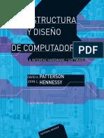 Estructura y diseno de computad - Patterson, David A.; Hennessy, .pdf