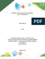 Principios y Estrategias de Gestion Ambiental - Fase 4 - Comprobación