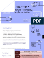 Obtaining Technology - Implementation