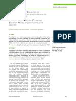 Uso do Modelo de Equações de Estimações Generalizadas na análise de dados longitudinais