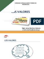Sesión 1 Los Valores