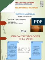 EPISTEMIOLOGIA EN CIENCIA  DE LA SALUD