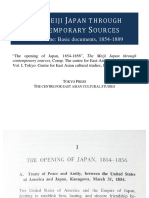 The opening of Japan, 1854-1856