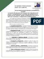 Modificatoria de la Ley No 30512