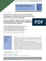 Infecciones Urinarias Recurrentes-Soc Urologia-2014