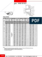 ASME B16.5-Flanges for Class 900 and 1500