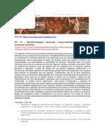 CIPIAL 2019 Epistemologías Diversas - Brasil