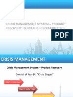 Crisis management training