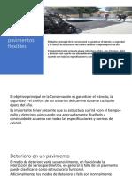 3.7 Conservación de Pavimentos Flexibles