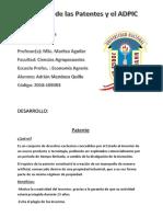 Resumen de las Patentes y el ADPIC.docx