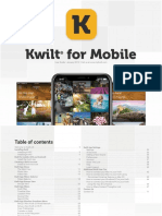 Kwilt for Mobile User Guide