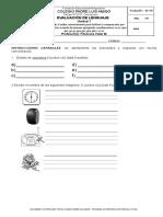 Evaluacion Sumativa Planos y Rosa de Los Vientos 2 Basico