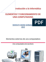 El Computador y Su Funcionamiento