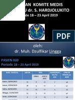 Laporan Jaga IGD April 2019