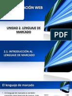 Unidad 2-Programacion Web