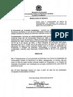 Resolução UFRB 06 2019