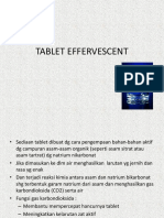TABLET EFFERVESCENT, isap dll.ppt