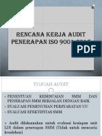 Pembukaan Dan Penjelasan Pelaksanaan Audit