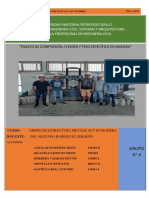 Trabajo de Madera Pino Estructural 2019I