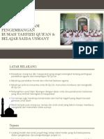 Presentasi  Pengembangan Rumah Tahfizh Qur'an Saida Usmany to Mahad.pdf