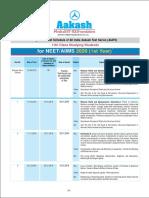 AIATS Schedule XI Studying NEET AIIMS 2020 (2)