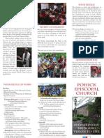 Pohick Stewardship Brochure, 2010