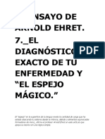 7. El Diagnóstico Exacto de Tu Enfermedad y El Espejo Mágico