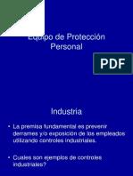 Evaluacion de Riesgos Higienicos Industriales en El Lugar