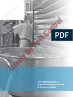 Pest Management in Food Processing Plants