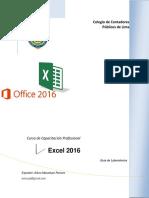 Excel 2016 Basico Art