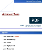 Advanced Lean Training Manual