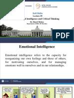 Lec-59 Emotional Intelligence